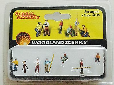 Woodland Scenics Accents 1/160 N Scale Surveyors Item # A2175 Factory Sealed