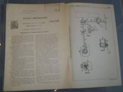 Outboard Motors For Boats Patent.frazer.1921