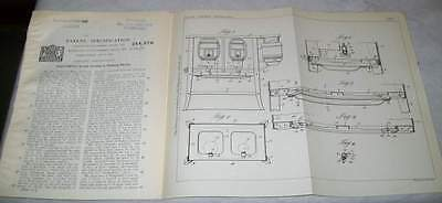 Cooking Stoves Patent. Cleveland Metal,usa.1925