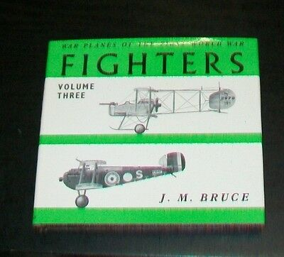 WARPLANES OF THE FIRST WORLD WAR VOL THREE GREAT BRITAIN BRUCE 1969 SOPWITH on