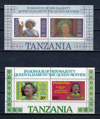 E21  Tanzania - Blockausgabe Königin Mutter Queen Elizabeth  TOP-postfrisch