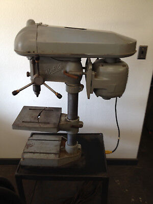 Buffalo No.15 Bench Drill Press Mounted On Projector Stand Nice Unit