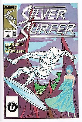 Silver Surfer #2 - Skrulls (Marvel, 1987) - VF/NM