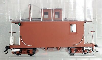 On3 Accucraft AMS Shorty Caboose Unlettered AM53-103 NIB