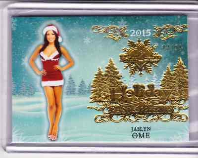 2015 Bench Warmer Holiday Past & Presents JASLYN OME #9 Premium Base 04/24