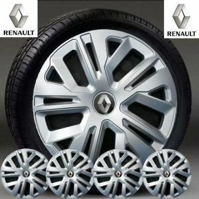 "Details about  RENAULT CLIO OR TWINGO 4 x 13"" INCH WHEEL TRIMS NEW SET HUB CAPS"