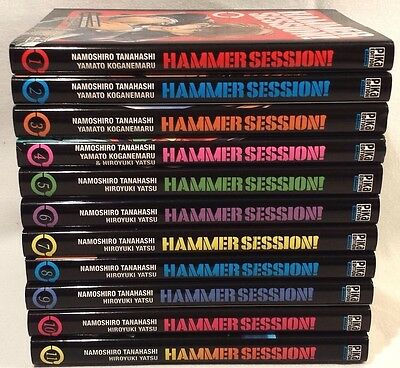 Hammer Session ! - Série Manga Complète intégrale (11 tomes) VF (Style GTO)
