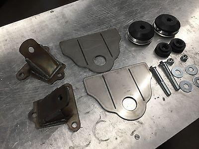 SBC Motor Mount Kit - Universal Hot Rod Rat Off-Road - Small Block Chevy