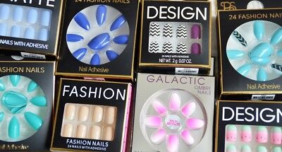 Primark PS Press on Nails, False Nails, Stiletto Nails with adhesive or glue