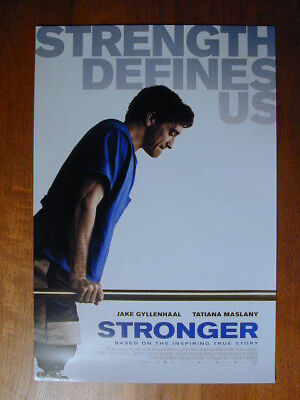 Stronger 2017 Rolled Window Movie Poster Starring  Jake Gyllenhaal