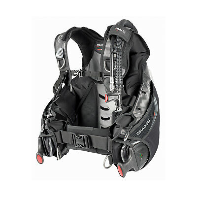 Mares Dragon MRS Scuba Diving BCD Buoyancy Compensator LG