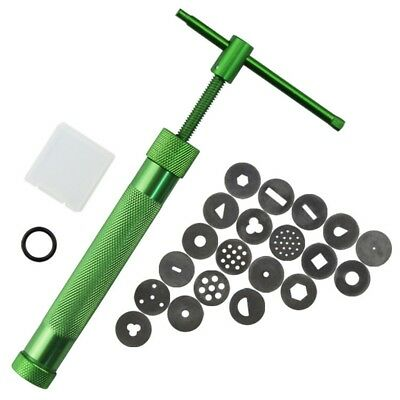 New Stainless Steel Green Crowded Mud Machine Polymer Clay Extruder Tools