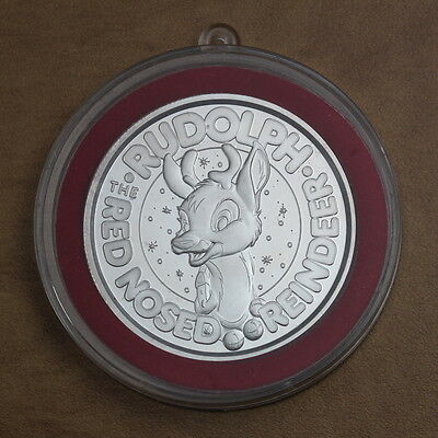 Rudolph - The Red Nosed Reindeer - Ag999 - 1 oz Fine Silver - #1136 m