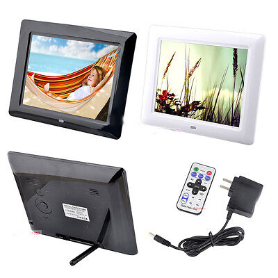 """8"""" inch TFT LED Digital Photo Picture Frame Album MP4 Clock Video Movie Player"""