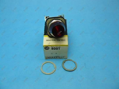 Allen Bradley 800T-Q48R /T Pilot Light 30.5 MM 48VAC/DC Red New