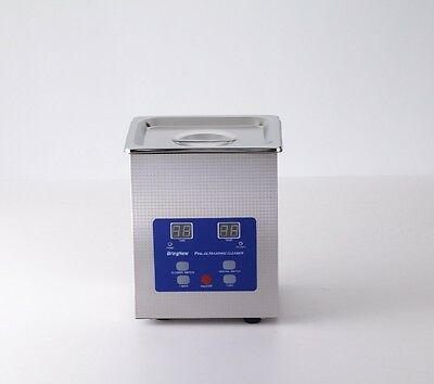 Ultrasonic Cleaner 1.5L,165W with Digital Heater and Control For Bracket Jewelry