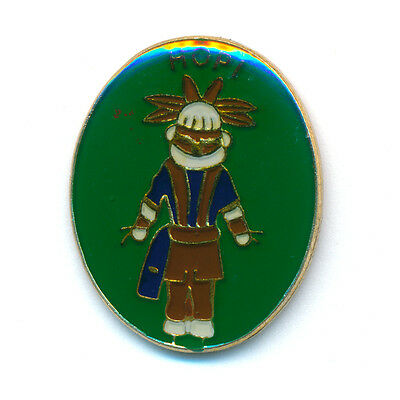 Hopi Pueblo Moki oder Moqui Indianer United States USA Button Pin Anstecker 0537