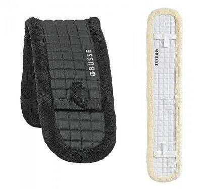 Busse Lunging Belt Pad Plush Shetty / Pony Thoroughbred / WB Colours Black-White