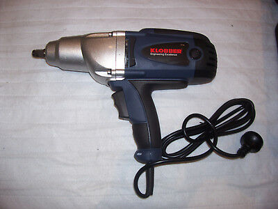 """IMPACT  WRENCH 1200 W 240V """"KLOBBER"""" 1/2"""" DRIVE 475nm"""