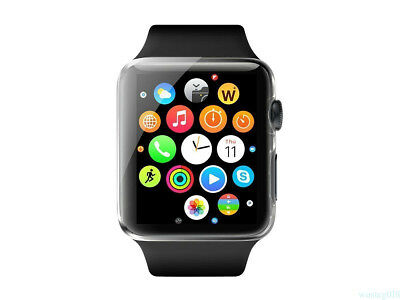 For Apple Watch Series 1 2  38/42mm Strong HARD TPU Case Cover Screen Protector