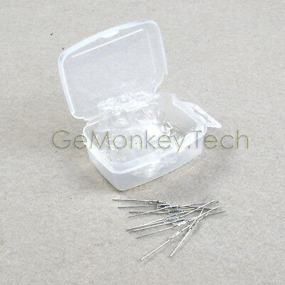 Generic New 10PCS Reed Glass Magnetic Switches N/O SPST 300VDC 2*7MM