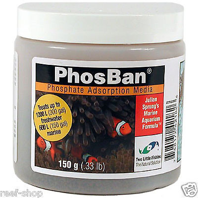 Two Little Fishies PhosBan 150 grams Phosphate Adsorption Media FREE USA SHIP