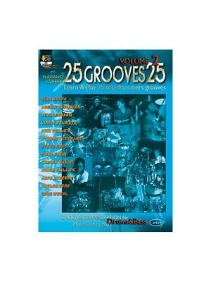25 Grooves 25, Volume 2. Drums Book, CD