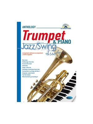 Jazz Swing Duets for Trumpet & Piano. Sheet Music, CD