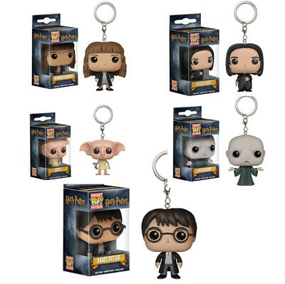 Pocket Pop Keychain Harry Potter Voldemort Vinyl Action Figure Collectible Toy