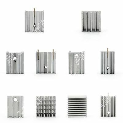 Small HeatSink Radiator For Power Transistor/MOSFET/IC TO-3/TO-126/TO-220/TO-247