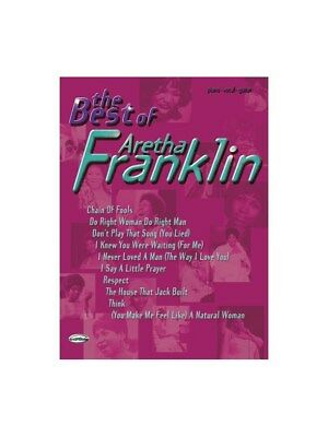 The Best of Aretha Franklin. PVG Sheet Music