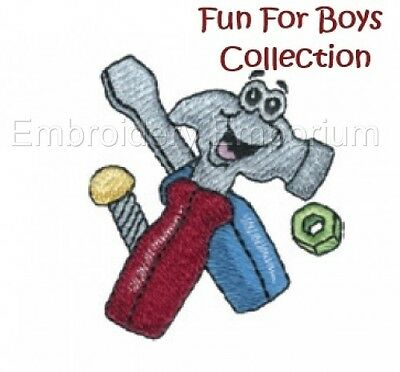 Fun For Boys Collection - Machine Embroidery Designs On Cd