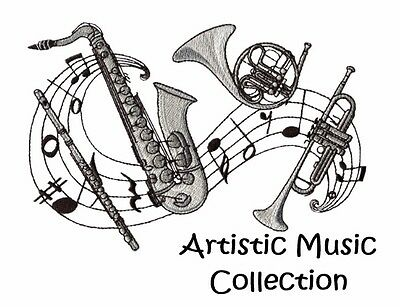 Artistic Music Collection - Machine Embroidery Designs On Cd