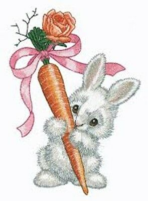 Bountiful Bunnies Collection - Machine Embroidery Designs On Cd