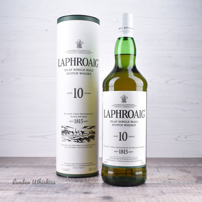 Laphroaig 10 Year Old Single Malt Scotch Whisky BIG 1000ml!