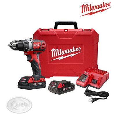 MILWAUKEE M18 BPD-202C TRAPANO AVVITATORE 18V 2AH LITIO 50Nm + 2 BATTERIE