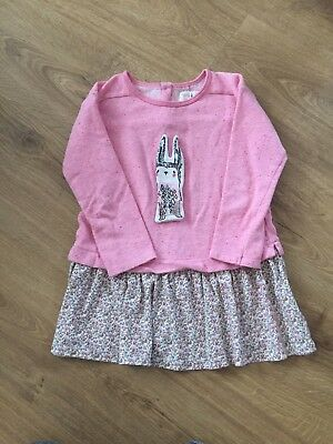 Girls Next Top & Skirt (all In One) Age  4-5