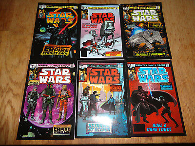 IDW Marvel Star Wars Empire Strikes Back Micro Comic set of 6, NEW