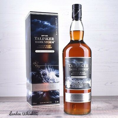 Talisker Dark Storm Single Malt Scotch Whisky 1000ml Rare Duty Free Release