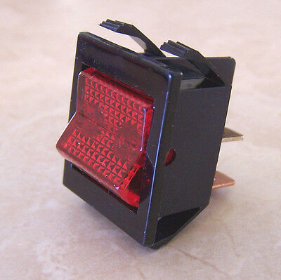 Marshall Lighted Square Rocker Switch