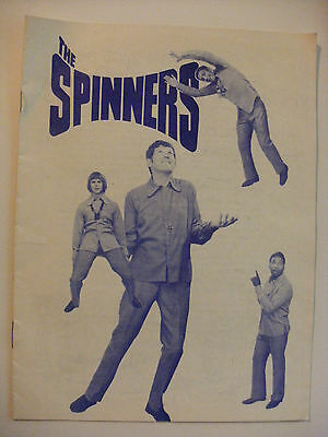 1972 The Spinners Concert Programme