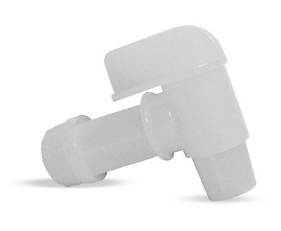 "Plastic Drum Faucets - 3/4"" Npt - Natural - set of 3"