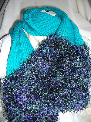 Hand-knitted Scarf Ref 943