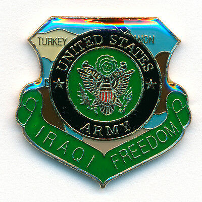 Iraqi Freedom U.S. Armee Emblem United States Army USA Badge Pin Anstecker 0778