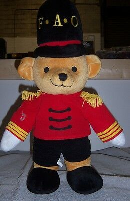"FAO Schwarz Toy Soldier Bear 19"" Stuffed Plush - Fifth Avenue"