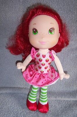 """Strawberry Shortcake Doll (Scented) 10""""  - 2009 American Greetings"""