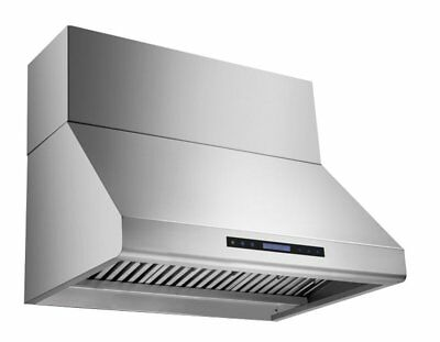 MaxAir 48 Inch wide MXR-R19 Commercial Strenght Duct Cover Range Hood