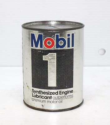 Vintage MOBIL 1 Mini Oil Quart Promotional Bank Mobiloil Advertising Petrolania