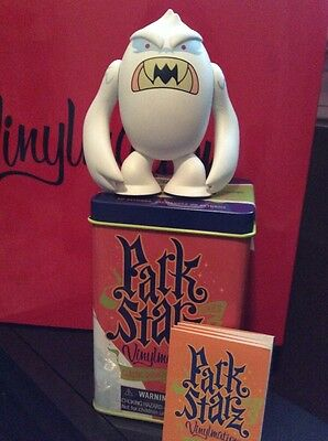"DISNEY Vinylmation 3"" Set 1 Park Starz Yeti Everest  w Tin"