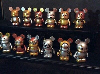 DISNEY Vinylmation Japan Zodiac ETO Set Of 12 W/Chaser Elliot Dragon